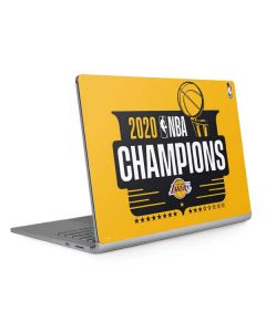 2020 NBA Champions Lakers Surface Book 2 15in Skin