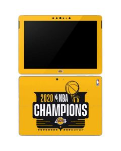 2020 NBA Champions Lakers Surface Go Skin