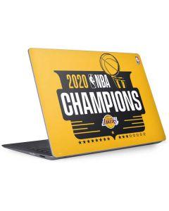 2020 NBA Champions Lakers Surface Laptop 2 Skin