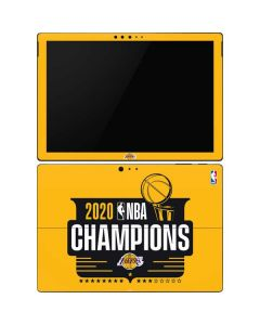 2020 NBA Champions Lakers Surface Pro 6 Skin