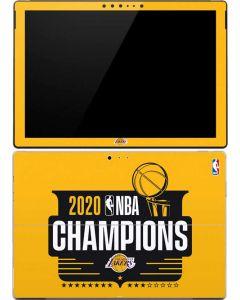 2020 NBA Champions Lakers Surface Pro (2017) Skin