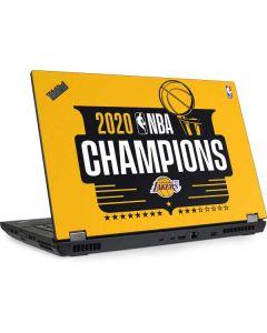 2020 NBA Champions Lakers Lenovo ThinkPad Skin