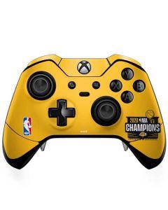 2020 NBA Champions Lakers Xbox One Elite Controller Skin