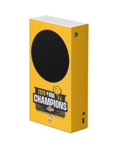 2020 NBA Champions Lakers Xbox Series S Console Skin