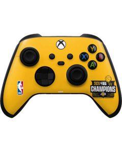 2020 NBA Champions Lakers Xbox Series X Controller Skin