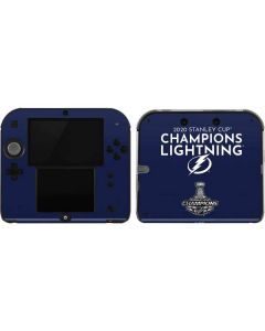 2020 Stanley Cup Champions Lightning 2DS Skin