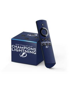 2020 Stanley Cup Champions Lightning Fire TV Cube Skin