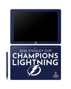 2020 Stanley Cup Champions Lightning Galaxy Book 12in Skin