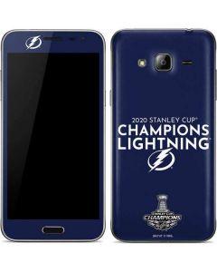 2020 Stanley Cup Champions Lightning Galaxy J3 Skin
