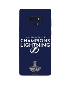 2020 Stanley Cup Champions Lightning Galaxy Note 9 Skin