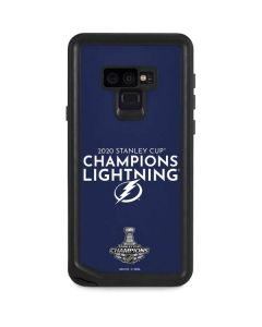 2020 Stanley Cup Champions Lightning Galaxy Note 9 Waterproof Case
