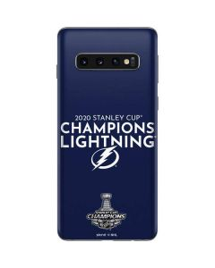 2020 Stanley Cup Champions Lightning Galaxy S10 Skin
