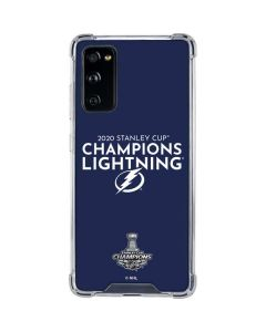 2020 Stanley Cup Champions Lightning Galaxy S20 FE Clear Case