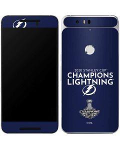 2020 Stanley Cup Champions Lightning Google Nexus 6P Skin