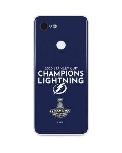 2020 Stanley Cup Champions Lightning Google Pixel 3 Skin