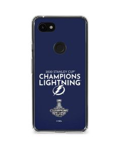 2020 Stanley Cup Champions Lightning Google Pixel 3a Clear Case