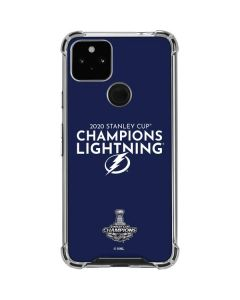 2020 Stanley Cup Champions Lightning Google Pixel 4a 5G Clear Case
