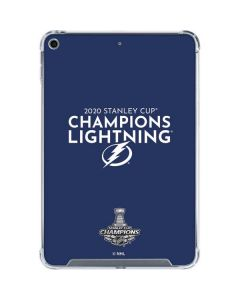 2020 Stanley Cup Champions Lightning iPad Mini 5 (2019) Clear Case