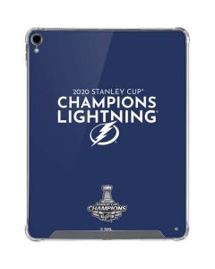 2020 Stanley Cup Champions Lightning iPad Pro 12.9in (2018-19) Clear Case