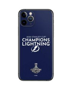 2020 Stanley Cup Champions Lightning iPhone 11 Pro Skin