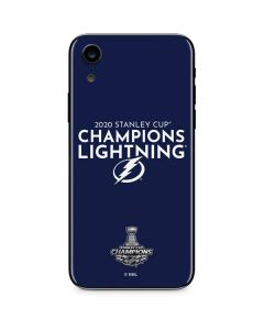 2020 Stanley Cup Champions Lightning iPhone XR Skin