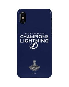 2020 Stanley Cup Champions Lightning iPhone XS Max Lite Case