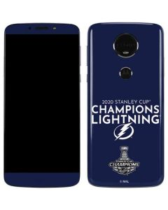 2020 Stanley Cup Champions Lightning Moto E5 Plus Skin