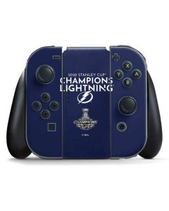 2020 Stanley Cup Champions Lightning Nintendo Switch Joy Con Controller Skin