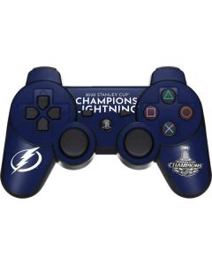 2020 Stanley Cup Champions Lightning PS3 Dual Shock wireless controller Skin