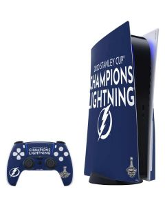 2020 Stanley Cup Champions Lightning PS5 Bundle Skin