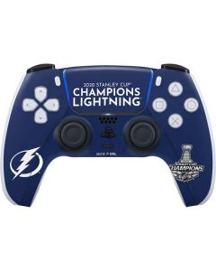 2020 Stanley Cup Champions Lightning PS5 Controller Skin