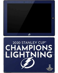 2020 Stanley Cup Champions Lightning Surface 3 Skin