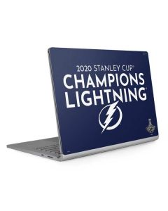 2020 Stanley Cup Champions Lightning Surface Book 2 15in Skin