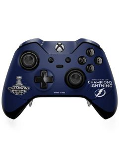 2020 Stanley Cup Champions Lightning Xbox One Elite Controller Skin