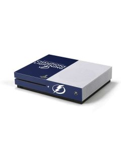 2020 Stanley Cup Champions Lightning Xbox One S Console Skin