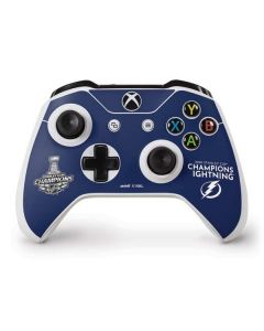 2020 Stanley Cup Champions Lightning Xbox One S Controller Skin