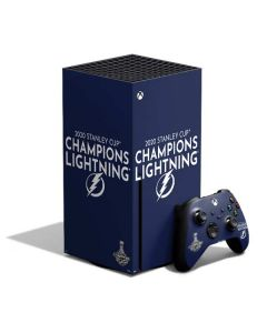 2020 Stanley Cup Champions Lightning Xbox Series X Bundle Skin