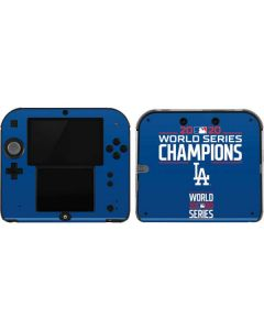 2020 World Series Champions LA Dodgers 2DS Skin