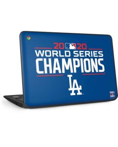 2020 World Series Champions LA Dodgers HP Chromebook Skin