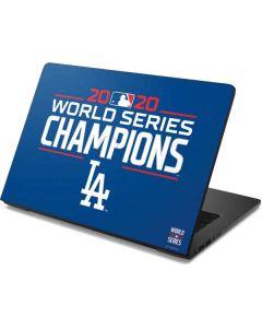 2020 World Series Champions LA Dodgers Dell Chromebook Skin