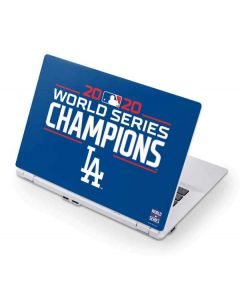 2020 World Series Champions LA Dodgers Acer Chromebook Skin