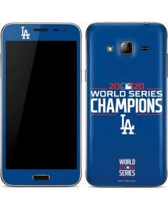 2020 World Series Champions LA Dodgers Galaxy J3 Skin