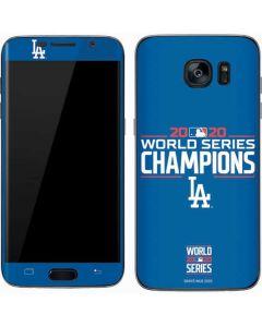 2020 World Series Champions LA Dodgers Galaxy S7 Skin