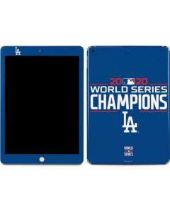 2020 World Series Champions LA Dodgers Apple iPad Skin