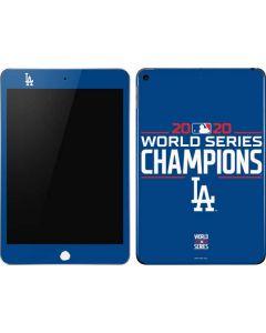 2020 World Series Champions LA Dodgers Apple iPad Mini Skin