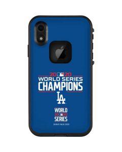 2020 World Series Champions LA Dodgers LifeProof Fre iPhone Skin