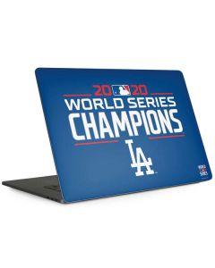 2020 World Series Champions LA Dodgers Apple MacBook Pro 15-inch Skin