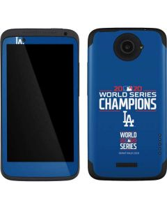 2020 World Series Champions LA Dodgers One X Skin