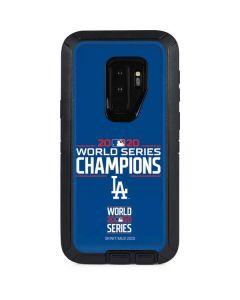 2020 World Series Champions LA Dodgers Otterbox Defender Galaxy Skin