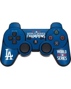 2020 World Series Champions LA Dodgers PS3 Dual Shock wireless controller Skin